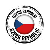 Flag of Czech Republic — Stock Vector