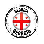 Flaga stanowa georgii — Wektor stockowy