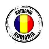Rumunská vlajka — Stock vektor