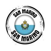 San marino bayrağı — Stok Vektör