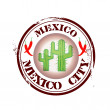 Stamp Mexico City - Stock Vector