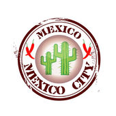 Stamp Mexico City — Stock Vector