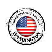 Washington damga — Stok Vektör