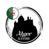 Stamp Alger — Stock Vector