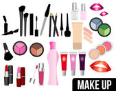 Makeup — Stock Vector