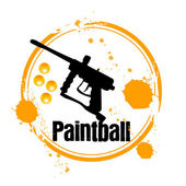 Paintball — Stock Vector
