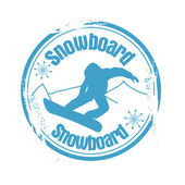 Snowboard — Stock Vector