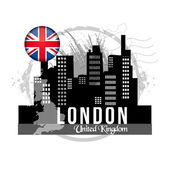 Stamp London — Stock Vector