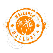 Stamp Mallorca — Stock Vector