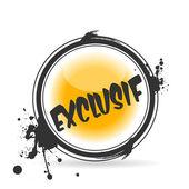 Stamp Exclusif — Stock Vector
