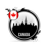 Stamp Canada — Stock Vector