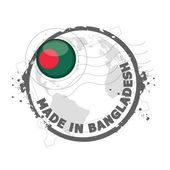 Made in Bangladesh — Stock Vector