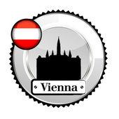 Medal Austria — Stock Vector