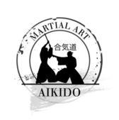 Stamp Aïkido — Stock Vector
