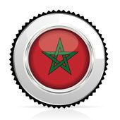Medal Morocco — Stock Vector