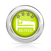 Stamp hotel — Stock Vector