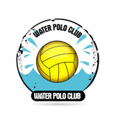 Stamp water polo — Stock Vector