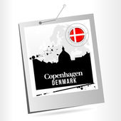 Copenhagen — Stock Vector