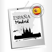 Madrid — Stock Vector