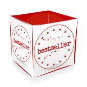 Cube bestseller — Stock Vector