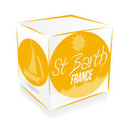 Cube saint barth' — Stock Vector