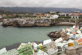 Llanes village — Stock Photo