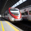 Stock Photo: Spanish railways