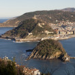 Partial view of San Sebastian - Stock Photo