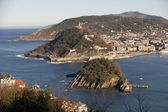 Partial view of San Sebastian — Stock Photo