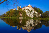 Benedictine Abbey in Tyniec near Cracow, Poland — Stock Photo
