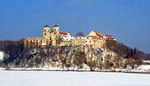 Benedictine Abbey in Tyniec — 图库照片