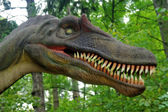 Dinosaur head — Stockfoto