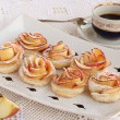 Rose apple cookies — Stock Photo