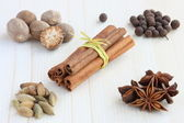 Spices for mulled wine — Stock Photo