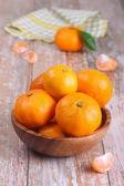 Fresh mandarins — Stock Photo
