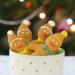 Stock Photo: Gingerbread clowns