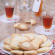 Cookies with orange liqueur - Stock Photo