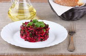 Vinaigrette Russian salad — Stock Photo
