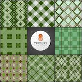 Textura de un cajón una especie de un rombo — Vector de stock