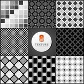 Textura de una caja de negro — Vector de stock