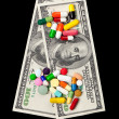 Stock Photo: Money for Medicine