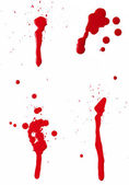 Blood Spatter II — Stock Photo
