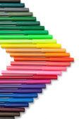 красочные маркер стрелка — Стоковое фото