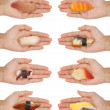 Handing Out Sushi — Stock Photo #16807353