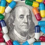 Money and Medicine — Stock Photo
