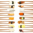 Sushi & Chopsticks — Stock Photo