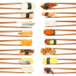 Sushi & Chopsticks - Stock Photo