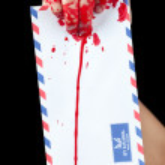 Zombie Postman — Stock Photo
