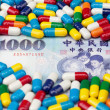 Taiwanese Money and Medicine — Stock Photo #16846287