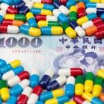 Taiwanese Money and Medicine — Stock Photo